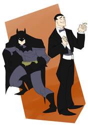 Batman aka Bruce Wayne by zimeatworld