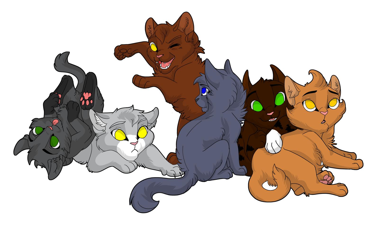 Warrior Cats Blossomkit Wolfspirit and Lynxhea...
