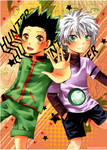 HunterxHunter - Gon and Killua