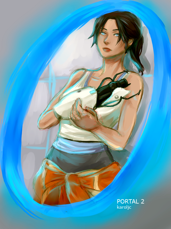 Put-A-Portal-There (Chell) | DeviantArt