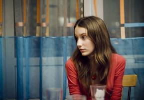 Katya za stolom by Javelines-rus