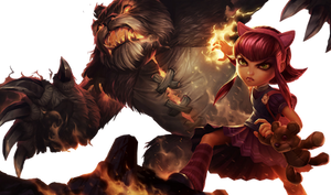 Annie and Tibbers Render by SilentLipz