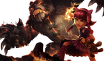 Annie and Tibbers Render