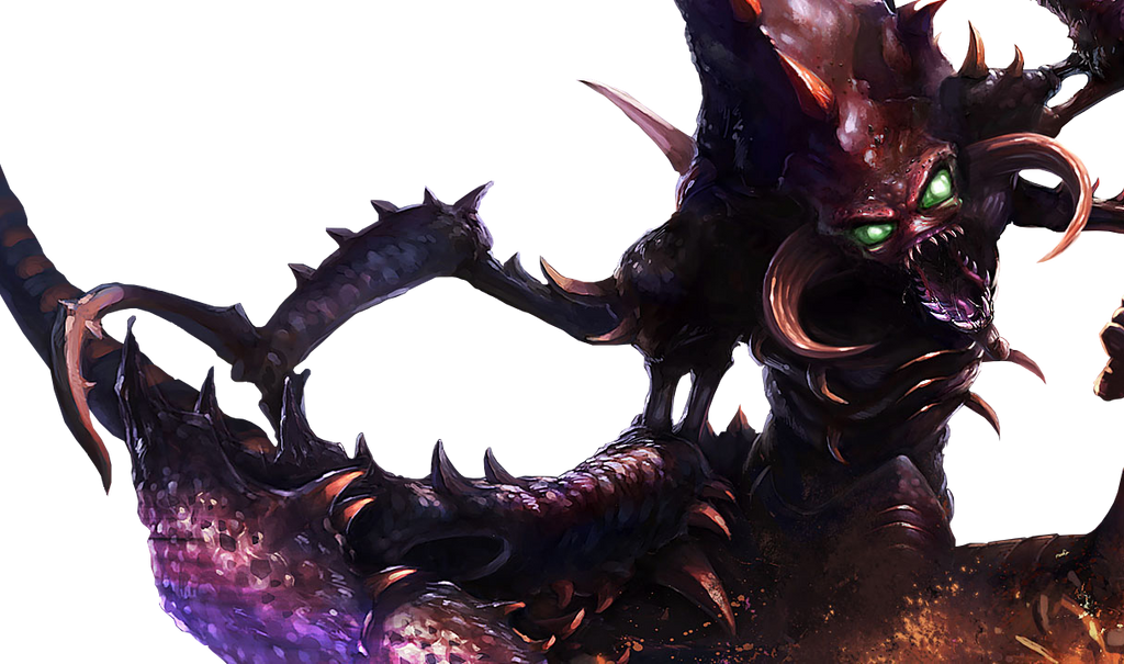 renders League Of Legend  Cho_gath_render_by_silentlipz-d6gq5nb