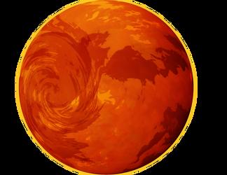 Dante, the Gas Giant by Tari-Idril