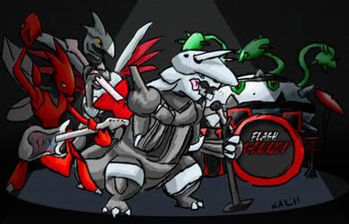 Pokemetal--Flash Cannon by Tari-Idril