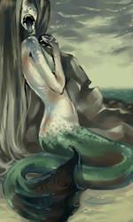 Little Mermaid by BakaAya