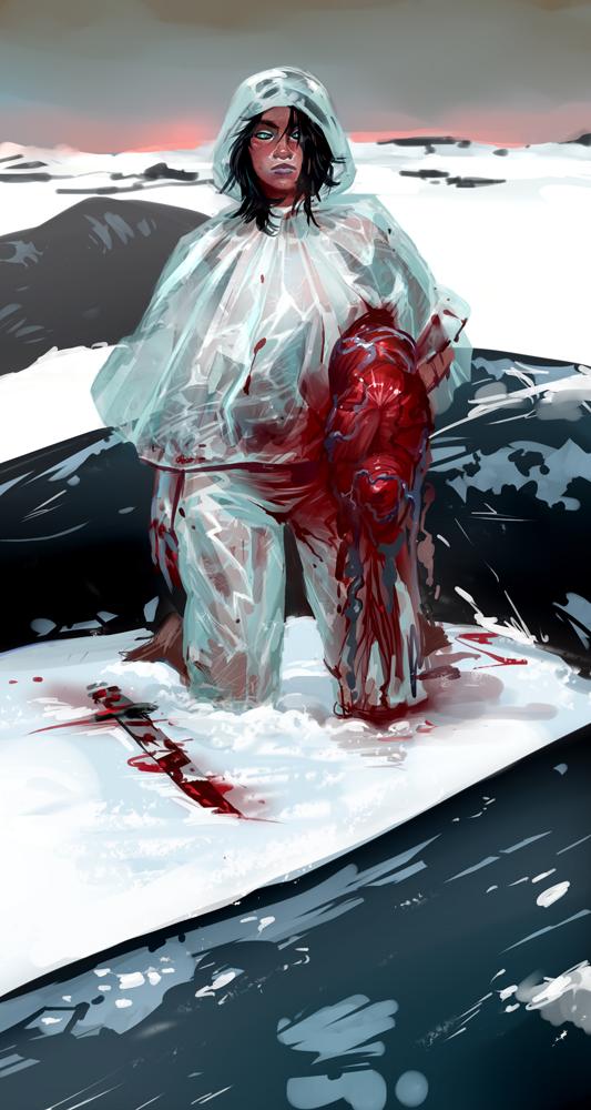 beast heart by BakaAya