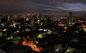 Sao Paulo at Night by Sofiwick