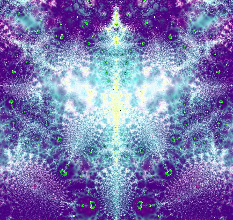 Fractal Galaxy by Fractal-Kiss