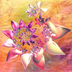 Petal Shells by Fractal-Kiss