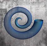 Blue Semitransparent