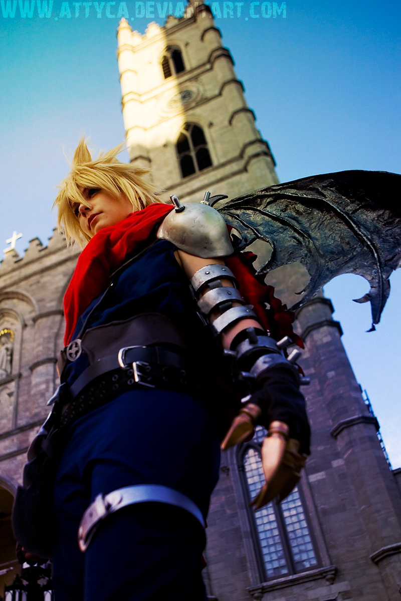 Kingdom Hearts Cloud by Attyca