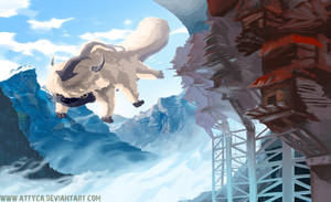 Appa in the mountains