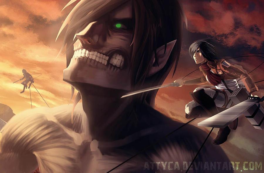 Attack on Titan by Attyca