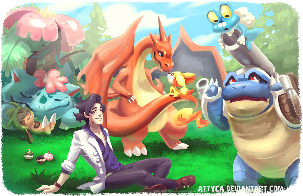 Pokemon Starters! by Attyca