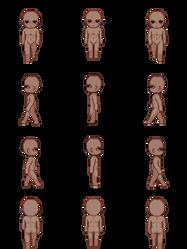 Free Sprite Resource - Human Male Dark