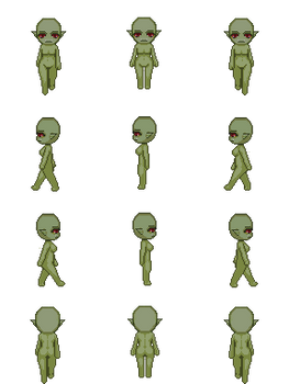 Free Sprite Resource - Orc Female