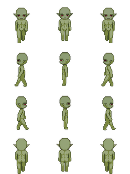 Free Sprite Resource - Orc Male