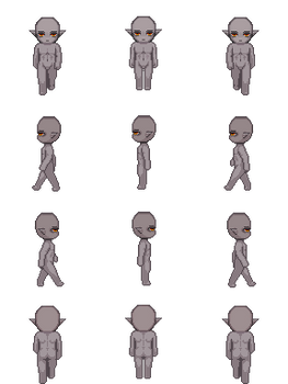 Free Sprite Resource - Elf Male Dark