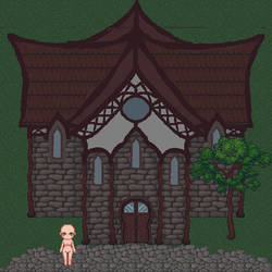 WIP - House Resource - Fantasy House 001