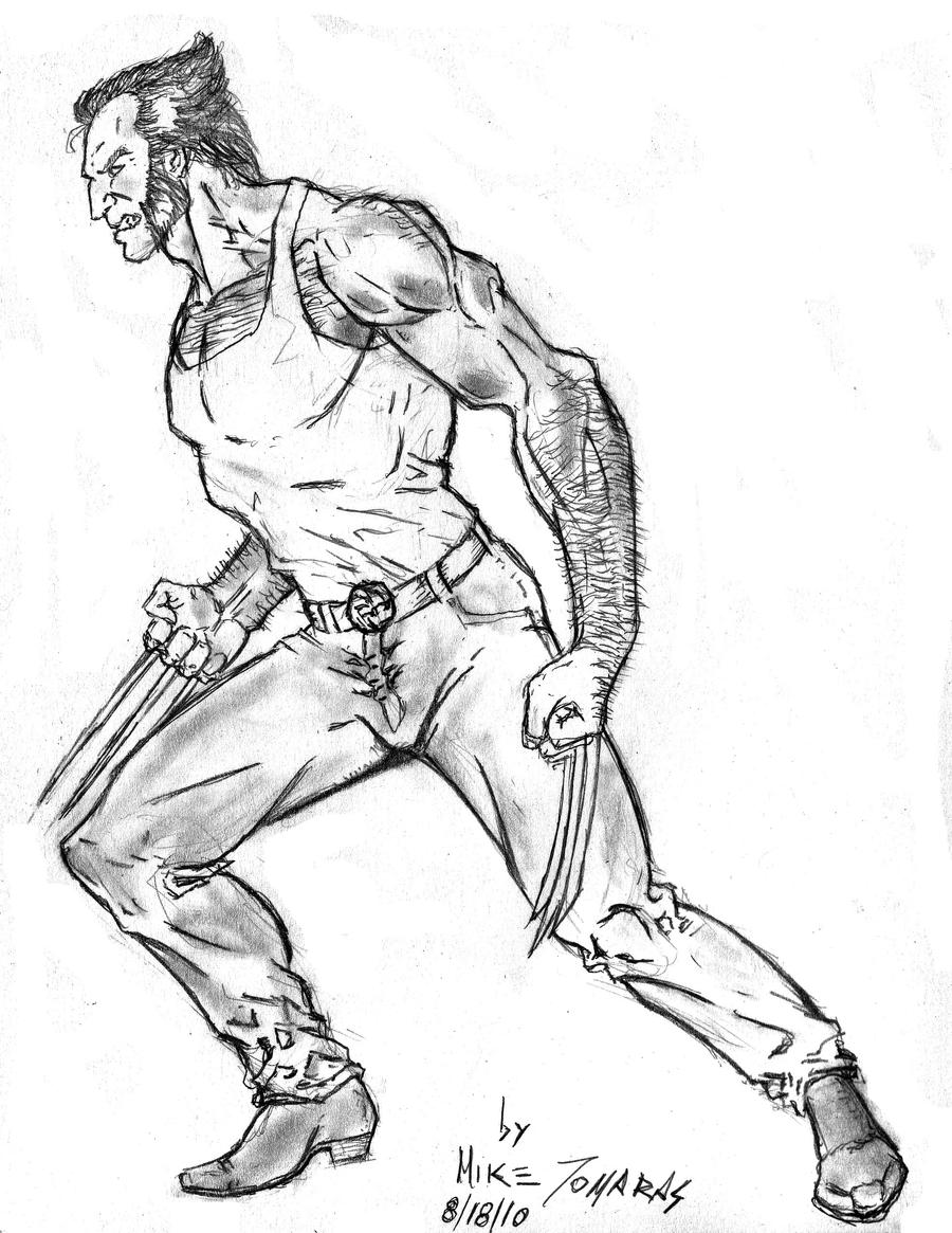 Logan wolverine by mtomaras70 on deviantart for Coloring pages wolverine