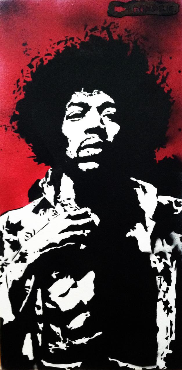 Jimi Hendrix by DefMart