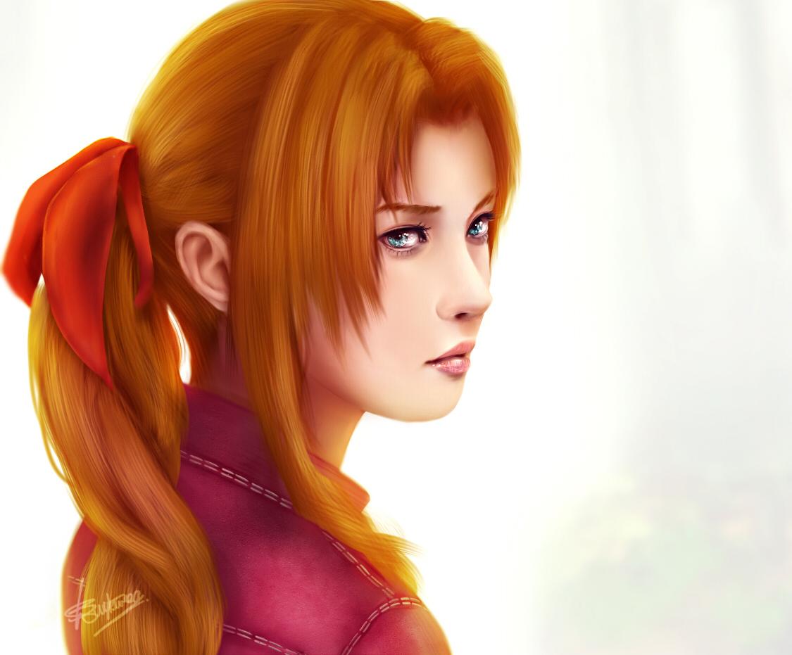 Aerith by Zolaida