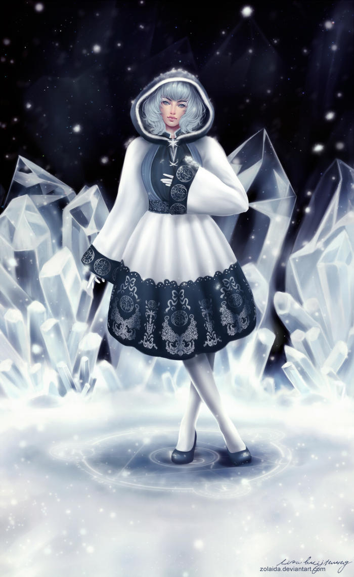 Crystal by Zolaida