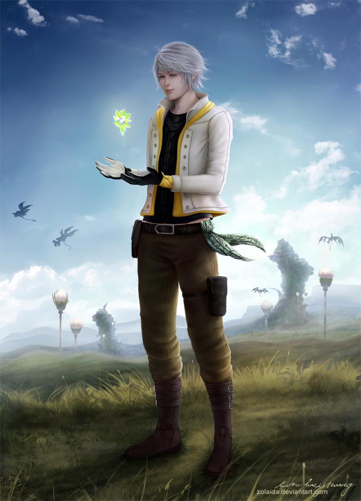 Hope Estheim by Zolaida