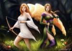 Elyra and Earwen