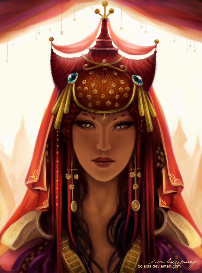 Eastern Princess by Zolaida