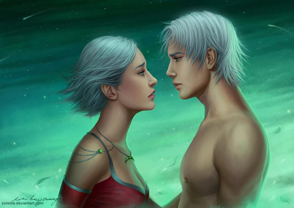 Diene and Calyth by Zolaida