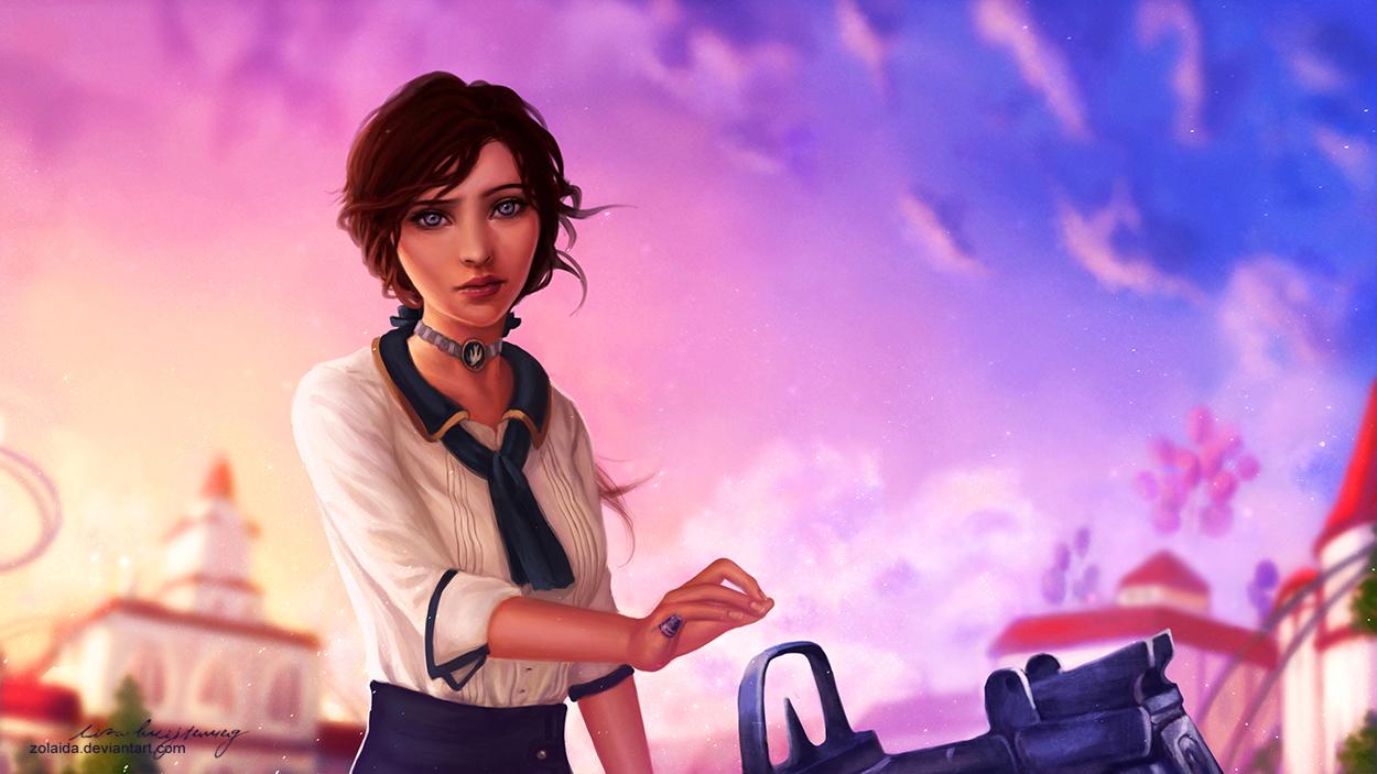 Bioshock Infinite: Elizabeth by Zolaida