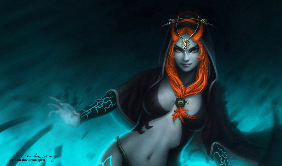 MIDNA WIP 1 PK Zeronis by Zeronis on DeviantArt