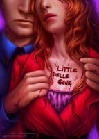 Book cover: Little Belle Gone by Zolaida