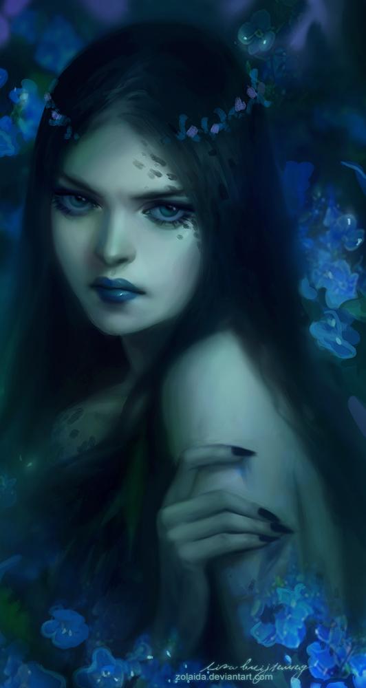 Blue Poison by Zolaida