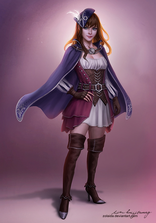 Captain's Daughter by Zolaida