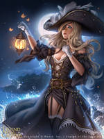 Legend of the Cryptids - Pirate Princess Ashlyan by Zolaida