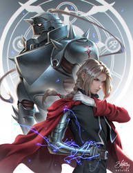 Full Metal Alchemist by Zolaida