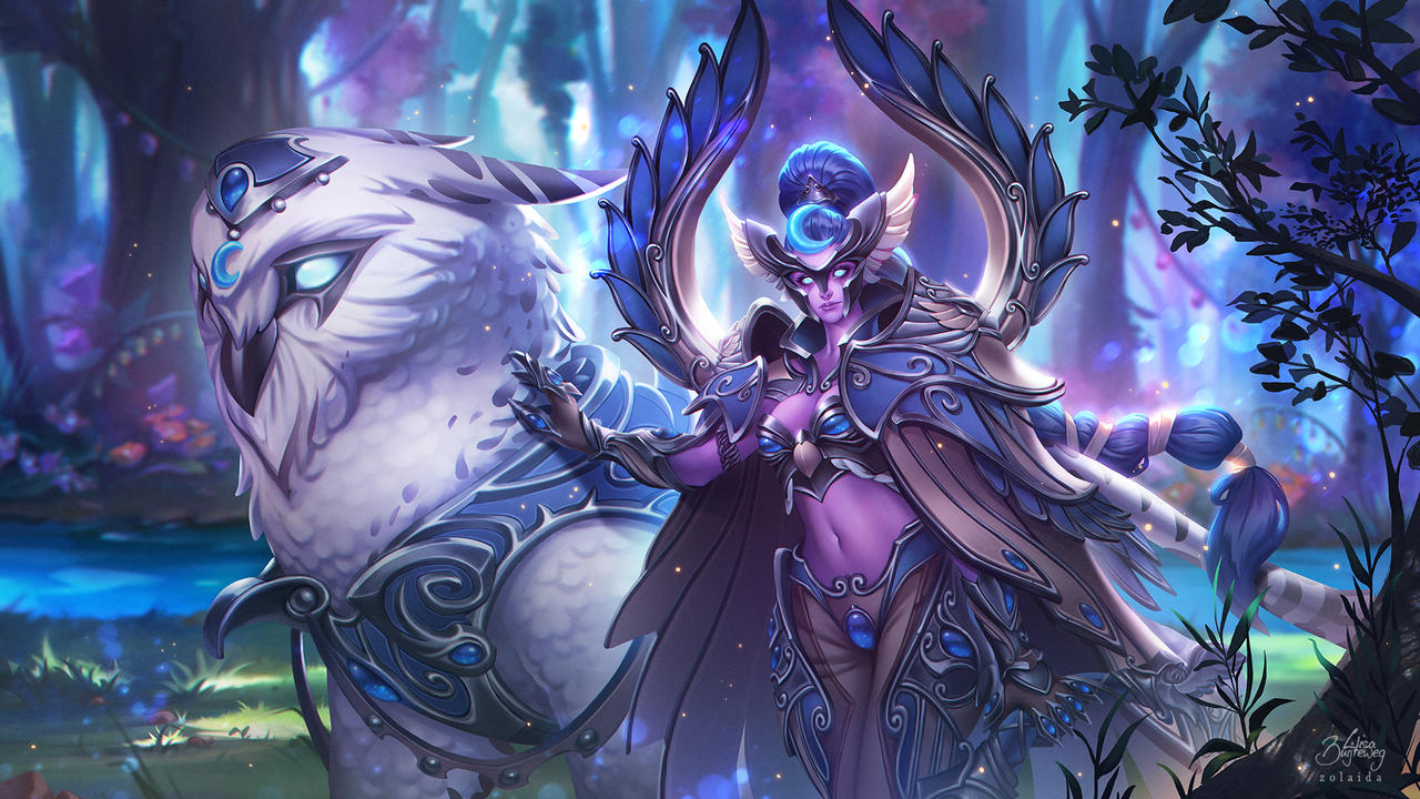 Heroes Of The Storm Maiev Shadowsong By Zolaida On Deviantart While maiev has positive armor of any kind, all physical damage dealt is increased by 20%. heroes of the storm maiev shadowsong
