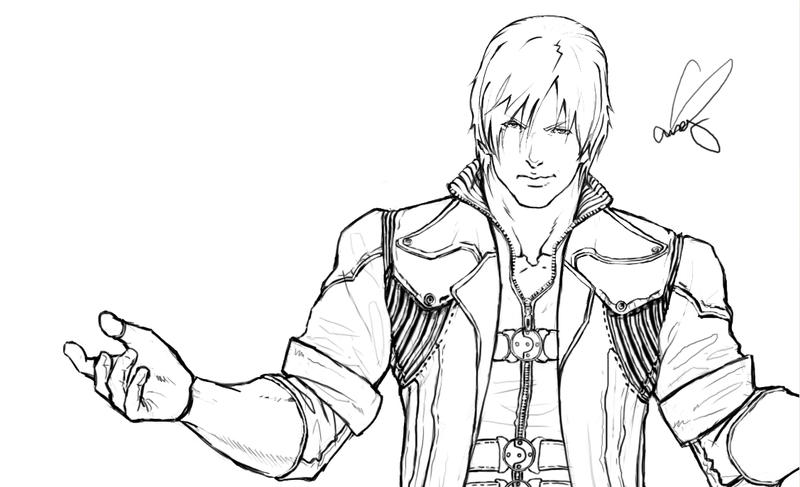 devil may cry coloring pages - photo#38