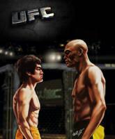 Bruce VS Silva by CangDu