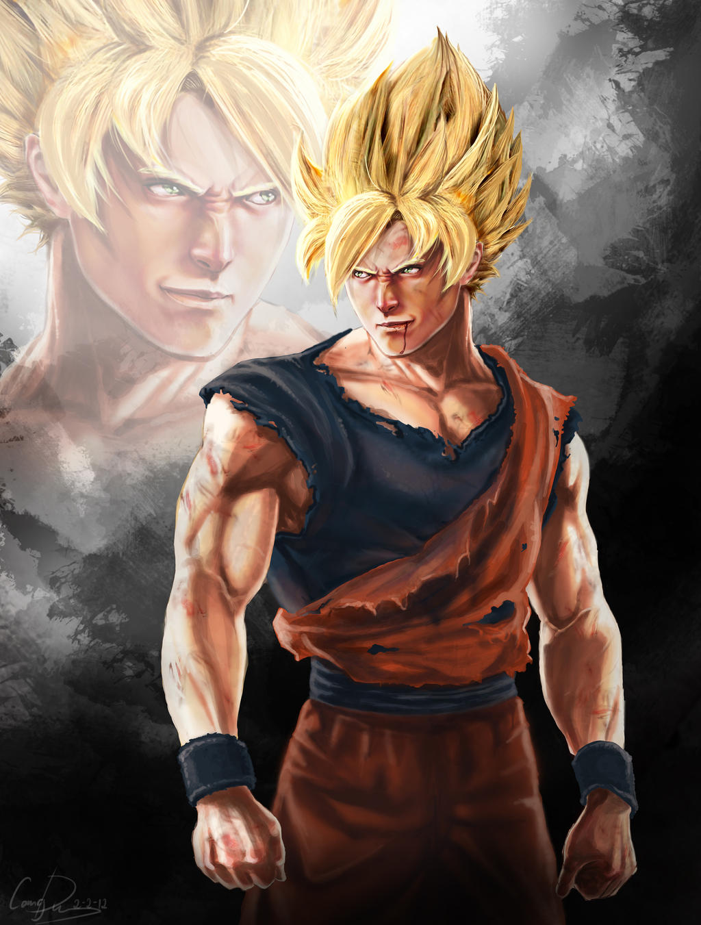 GOKU by CangDu on DeviantArt