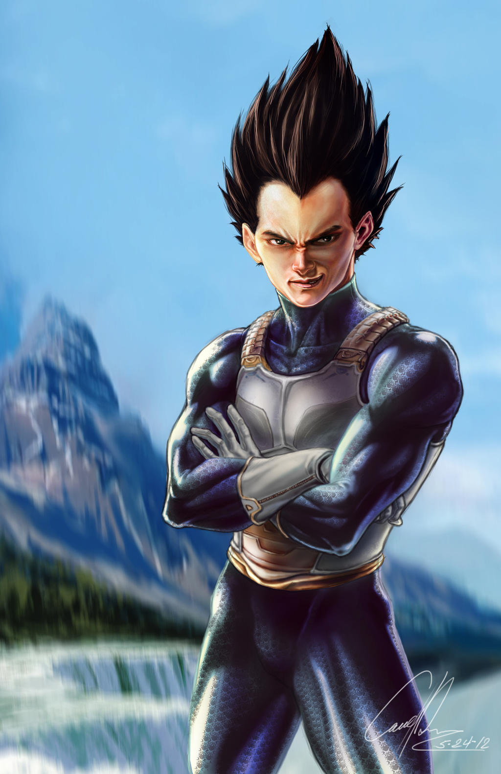 Vegeta by CangDu on DeviantArt - Hairstyle Generator