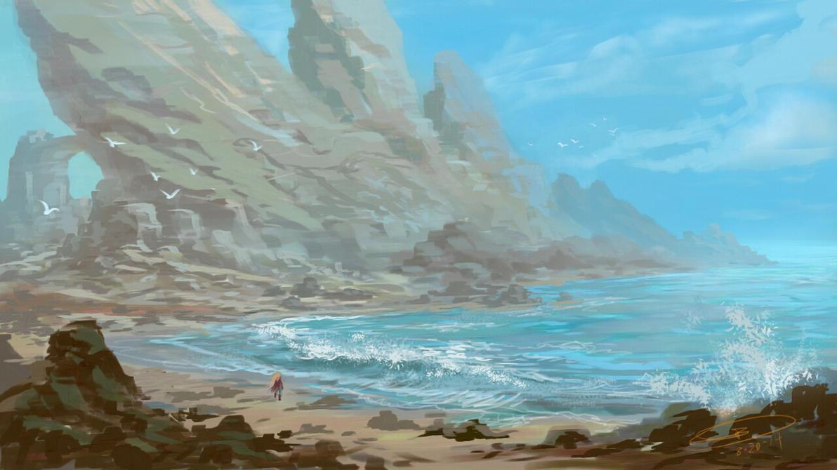 landscape study 2 by CangDu