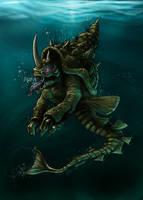 Sea Creature by Joey-B