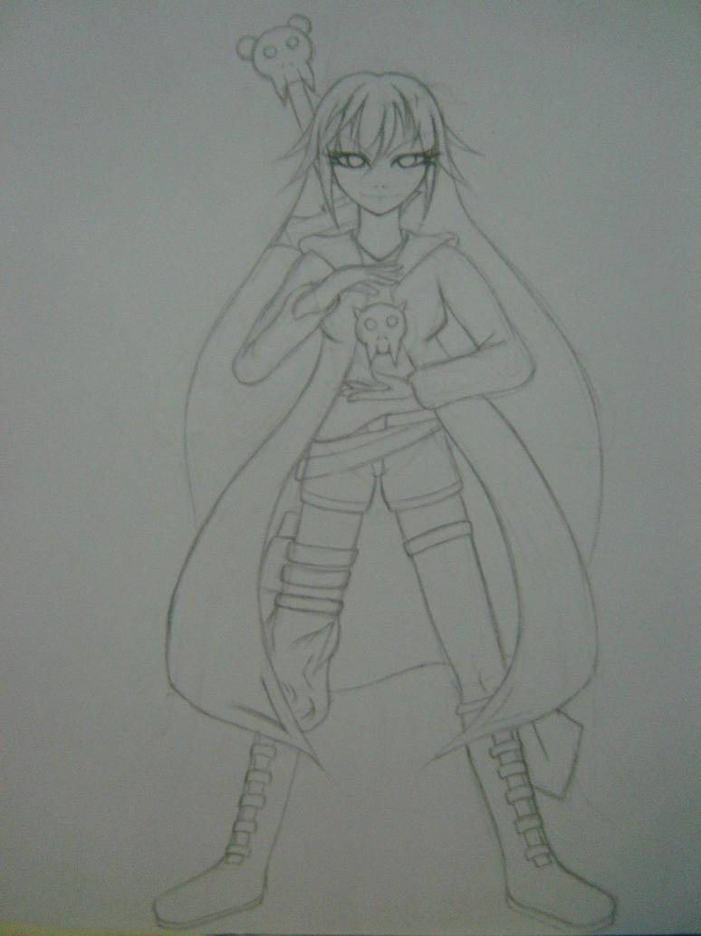 Anime Girl (badass?) By Naki-Ren On DeviantArt