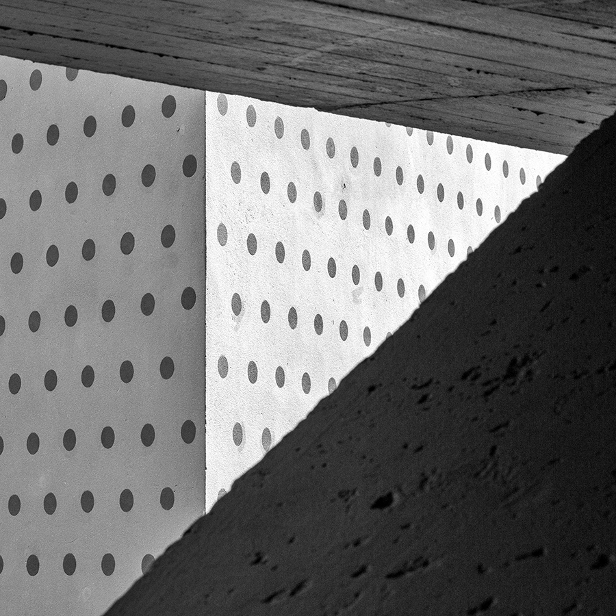 Urban Abstraction #18 (Polka Dots Triangle) by DpressedSoul