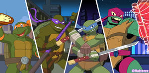 The four generation of turtles
